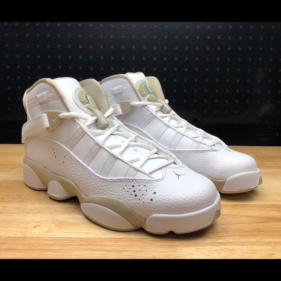 separation shoes 2b76e e4926 Nike Youth Jordan 6 Rings 7y   8.5 Women s White